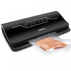 Vacuum Sealer Machine,CHULUX Dry Moist Food Preservation Sealer with Touch Screen,Built-in Bag Cutter,Starter Kit included Bags and Hose,100-240V